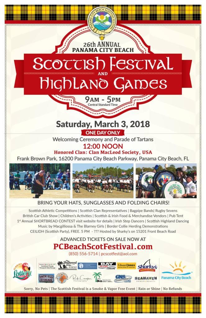 2018 Festival Flyer
