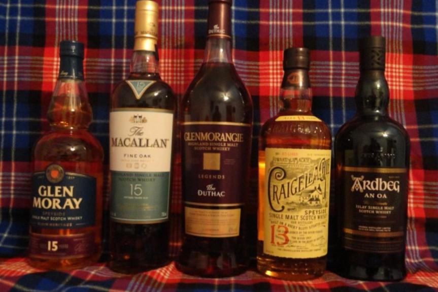 Whisky Tasting Mar 18
