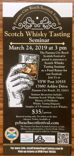 Whisky Tasting Flyer