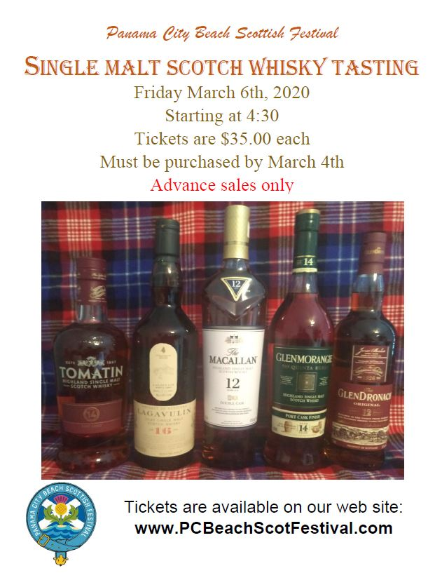 Whiskey Tasting Flyer